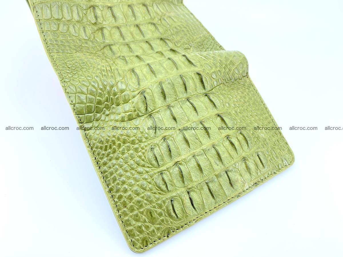 Women's wallet from crocodile leather 586 Foto 9