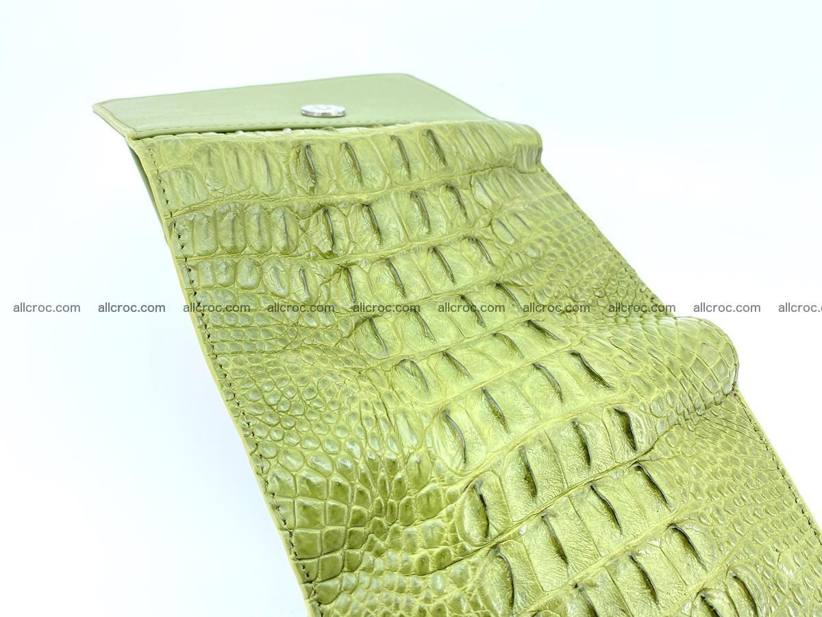 Women's wallet from crocodile leather 586 Foto 8