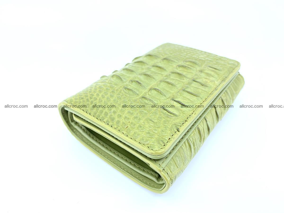 Women's wallet from crocodile leather 586 Foto 5