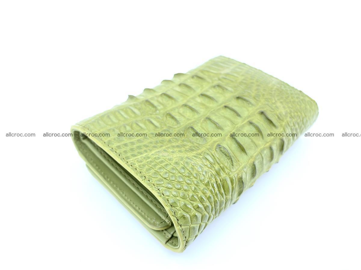 Women's wallet from crocodile leather 586 Foto 4