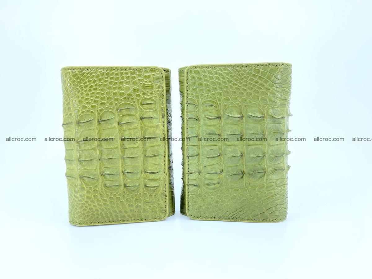 Women's wallet from crocodile leather 586 Foto 10