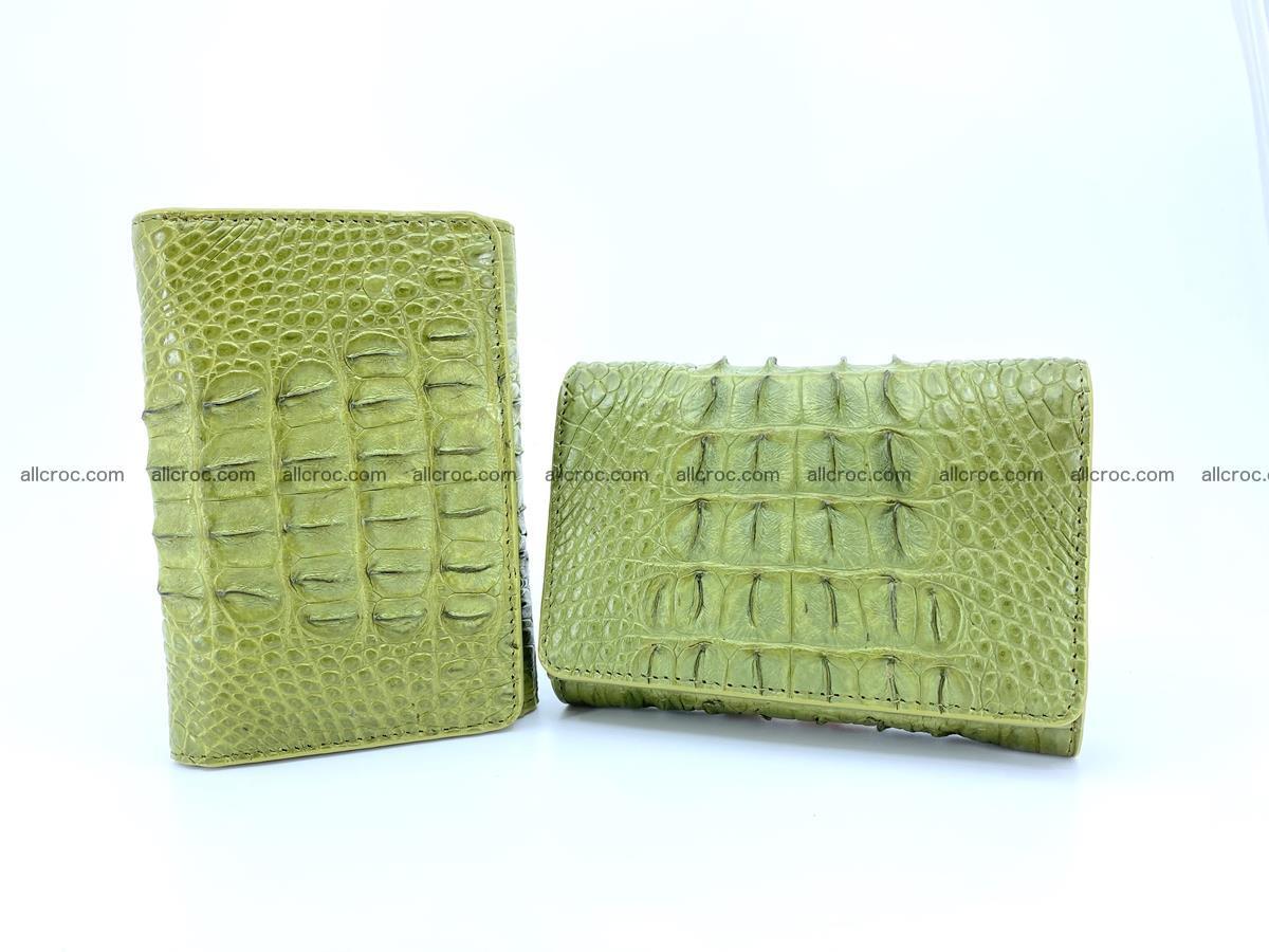 Women's wallet from crocodile leather 586 Foto 11