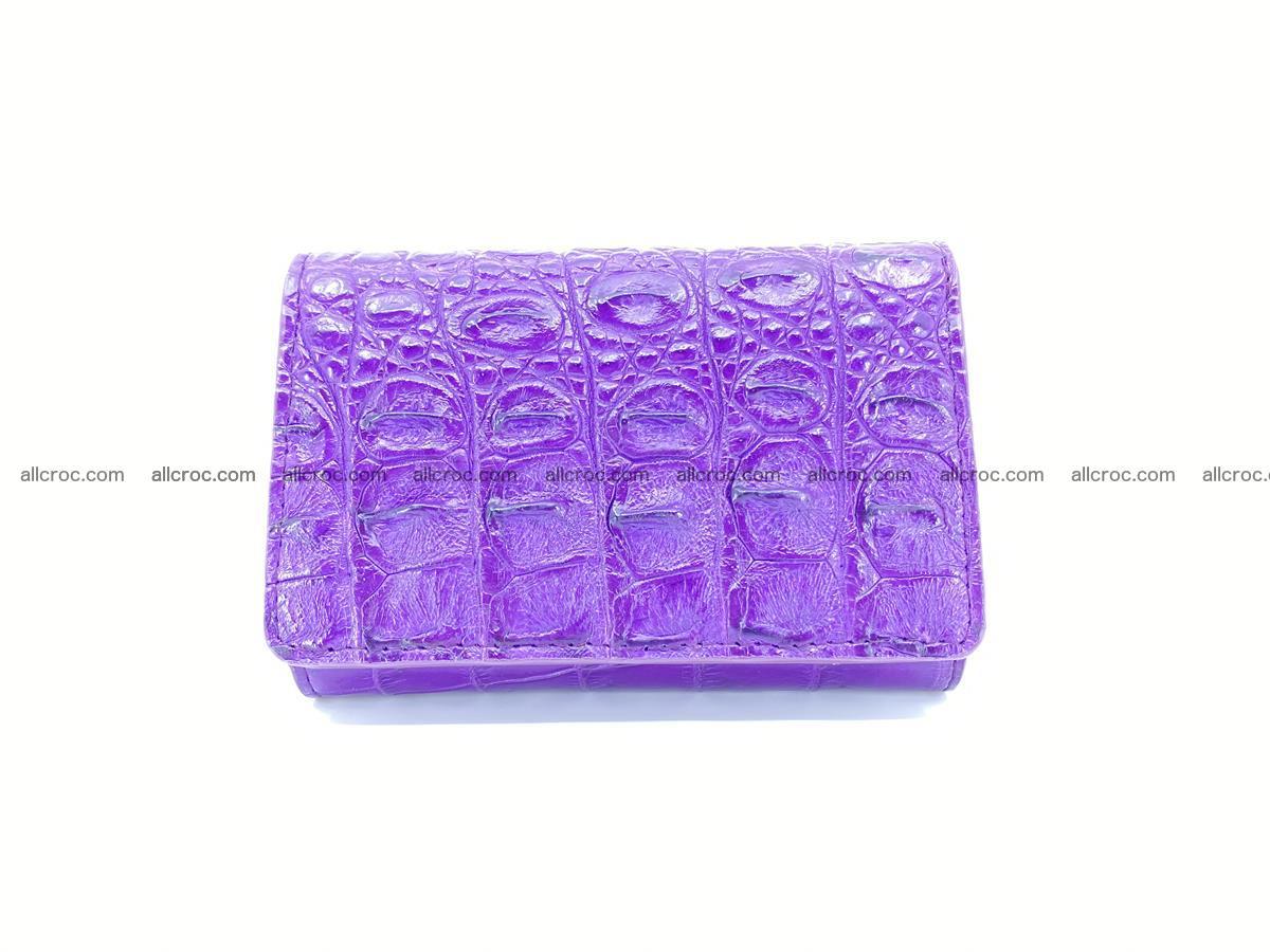 Women's wallet from crocodile leather 579 Foto 0