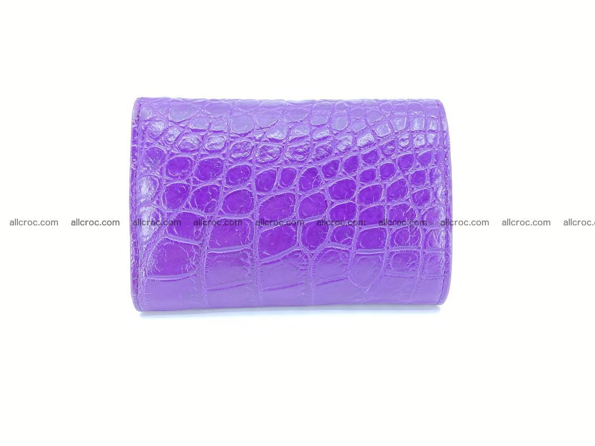 Women's wallet from crocodile leather 579 Foto 1