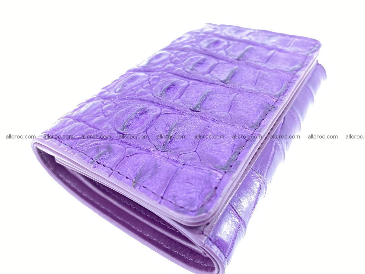 Women's wallet from crocodile leather 579 Foto 4