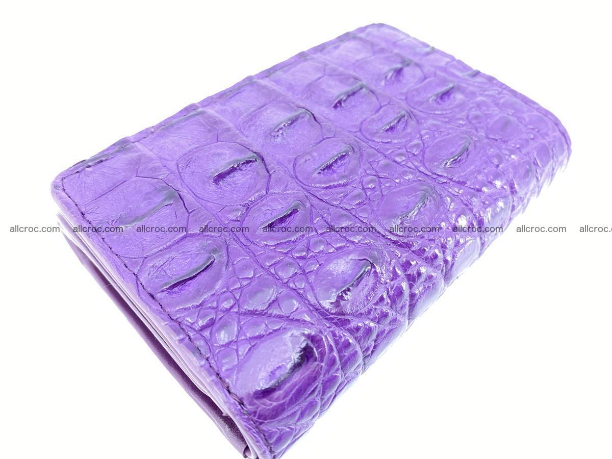 Women's wallet from crocodile leather 579 Foto 5