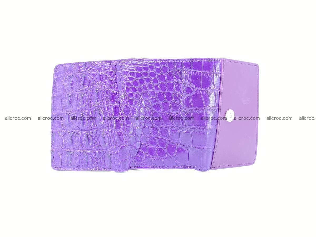 Women's wallet from crocodile leather 579 Foto 9
