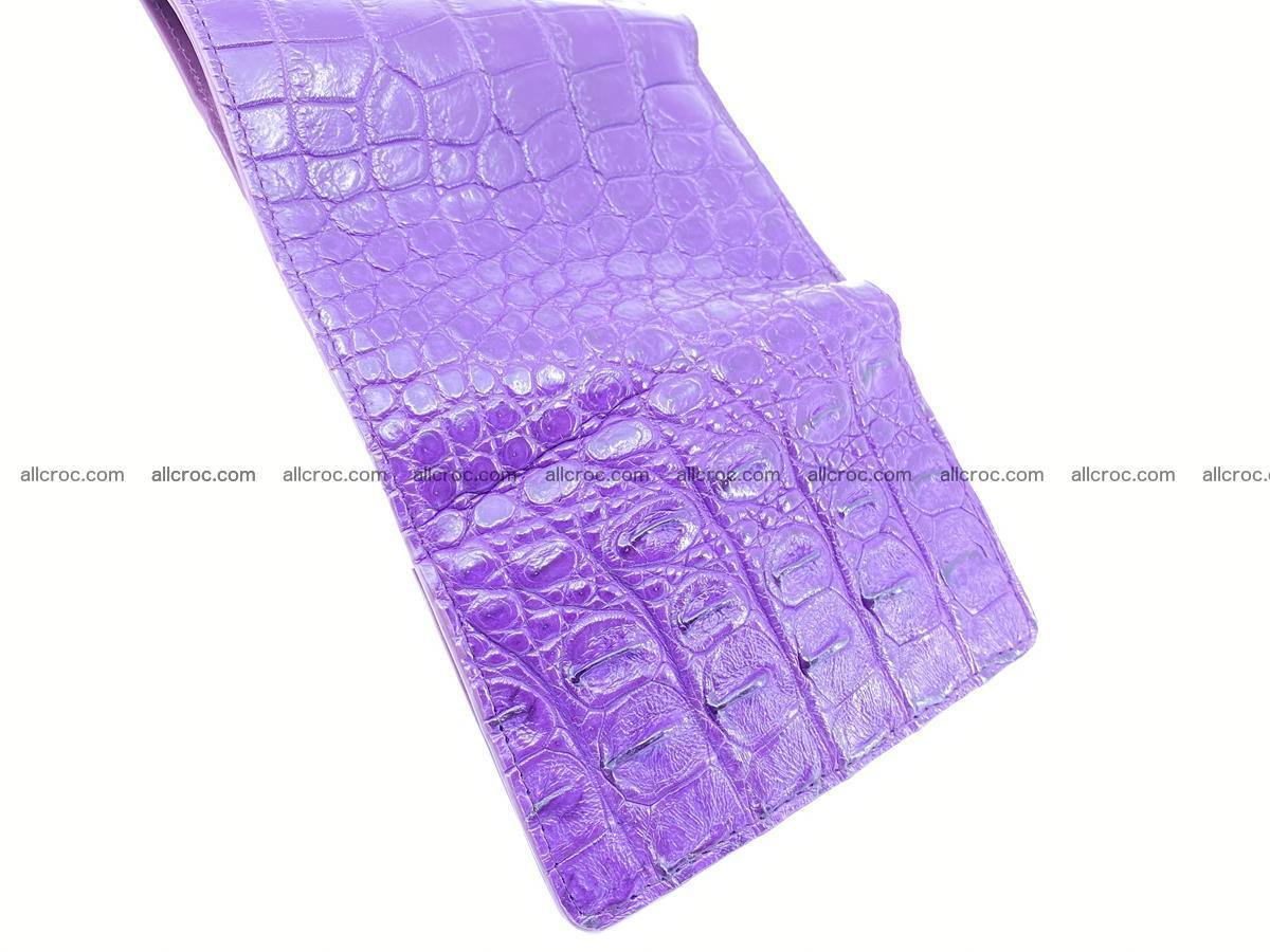 Women's wallet from crocodile leather 579 Foto 10