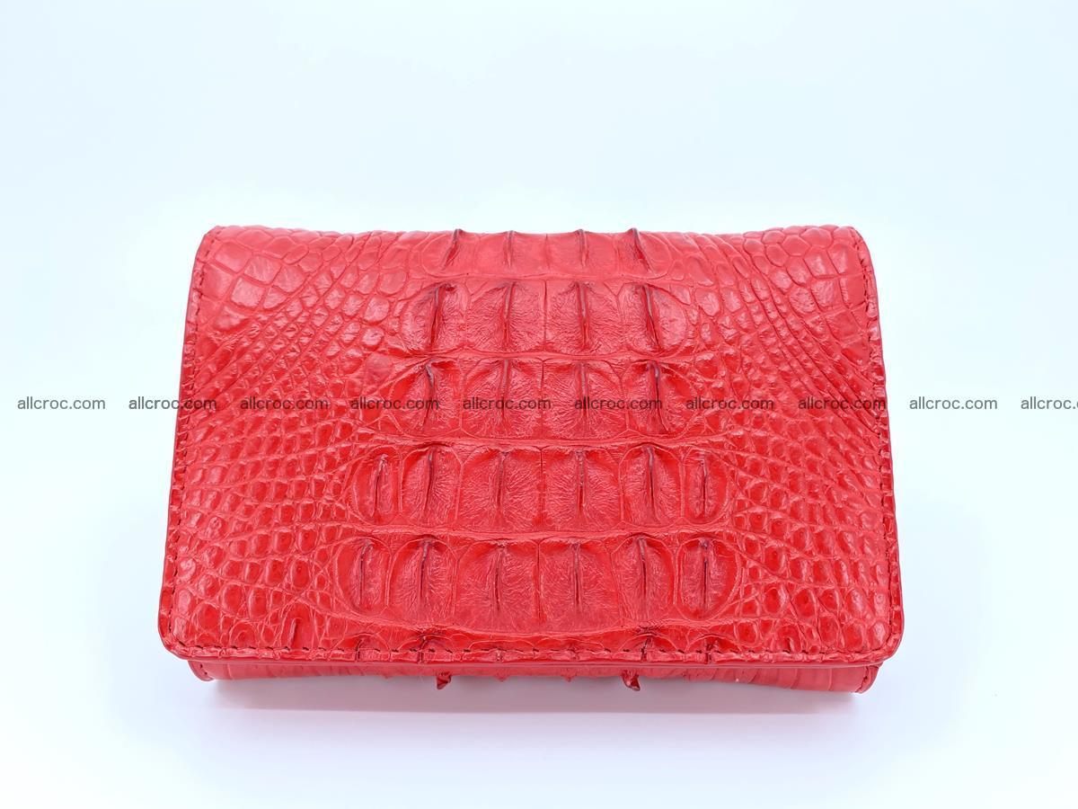 Women's wallet from crocodile leather 588 Foto 0