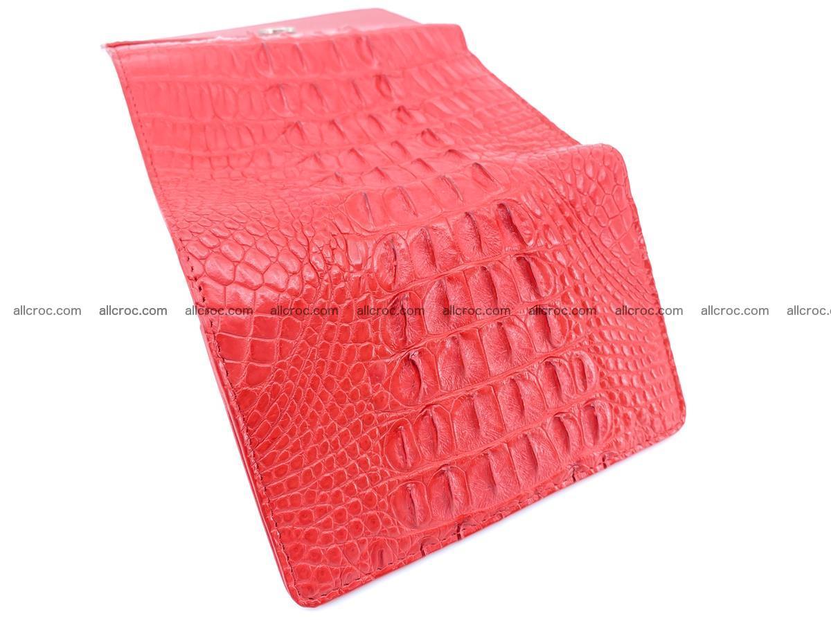 Women's wallet from crocodile leather 588 Foto 6