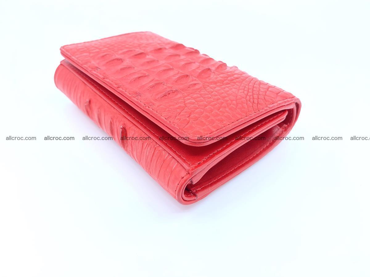 Women's wallet from crocodile leather 588 Foto 2