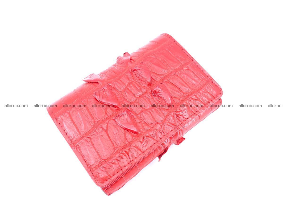 Women's wallet from crocodile leather 585 Foto 2