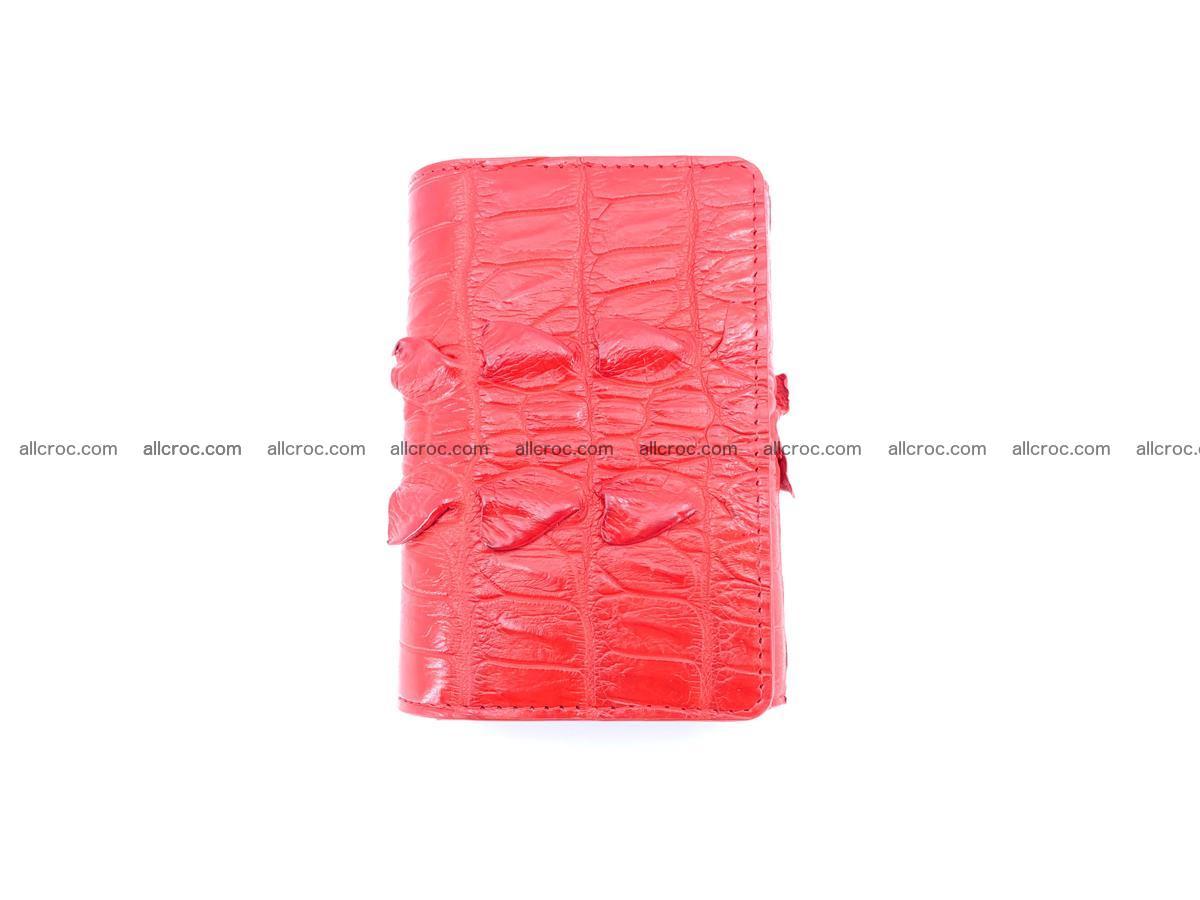 Women's wallet from crocodile leather 585 Foto 4