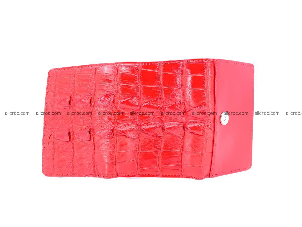 Women's wallet from crocodile leather 585 Foto 6