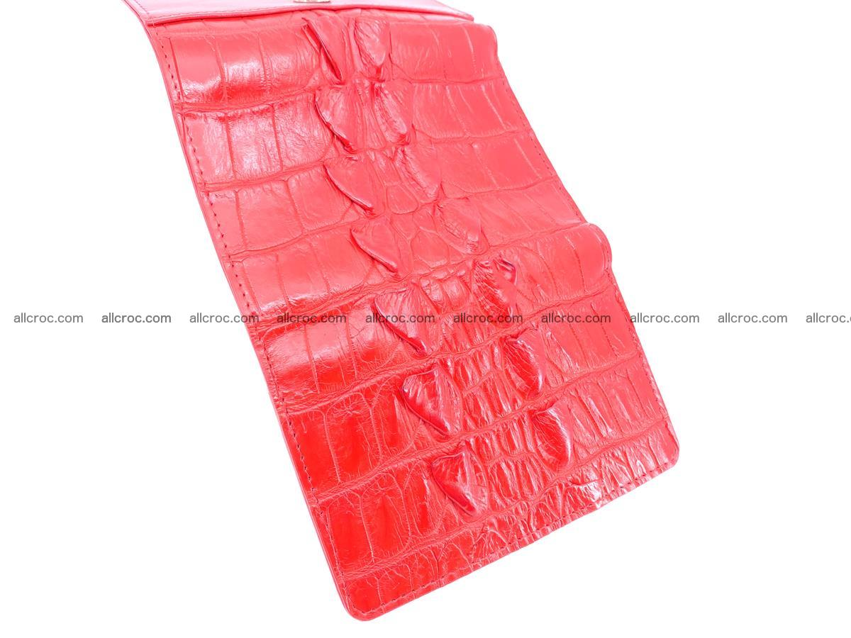 Women's wallet from crocodile leather 585 Foto 7