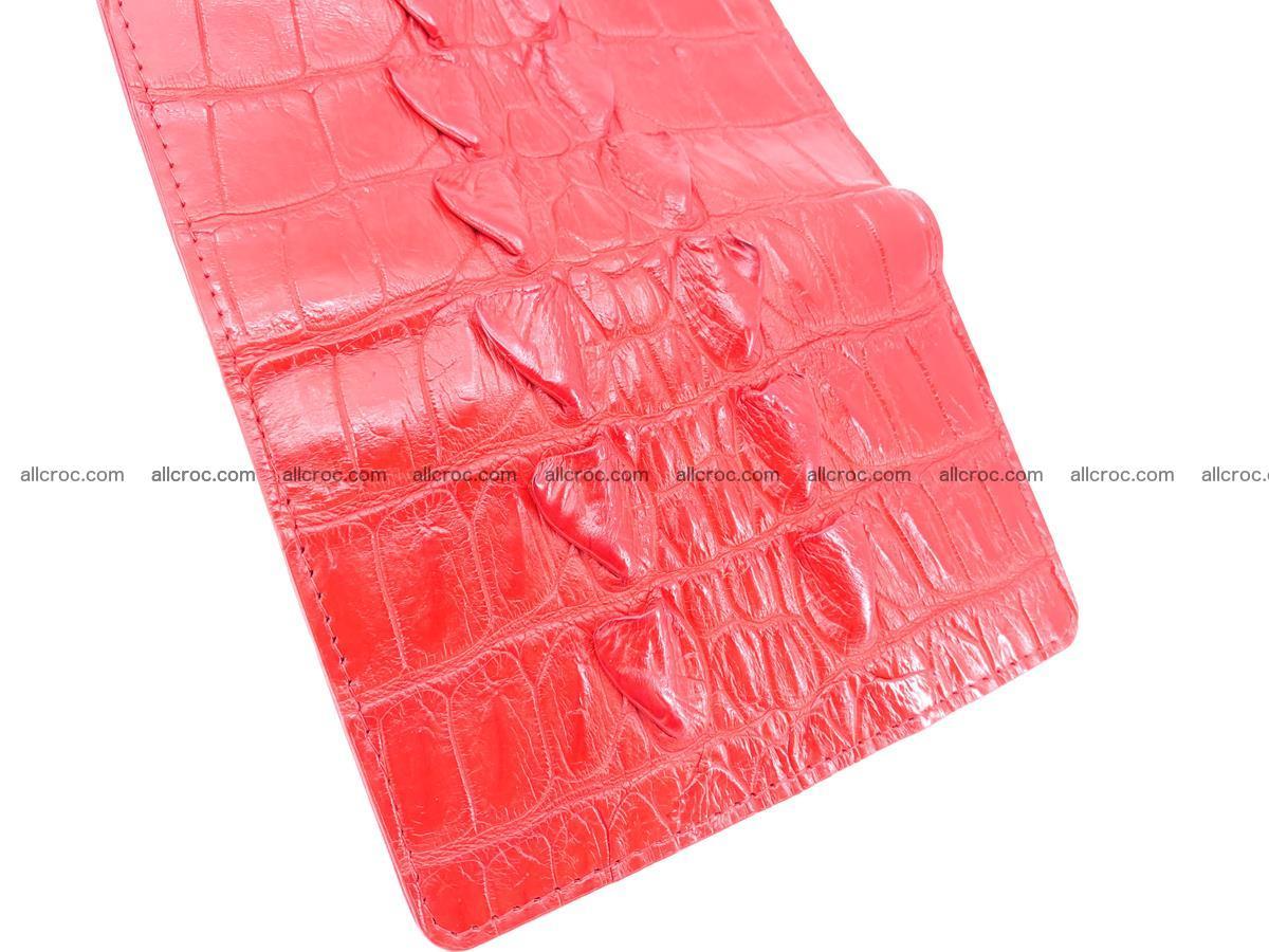 Women's wallet from crocodile leather 585 Foto 8