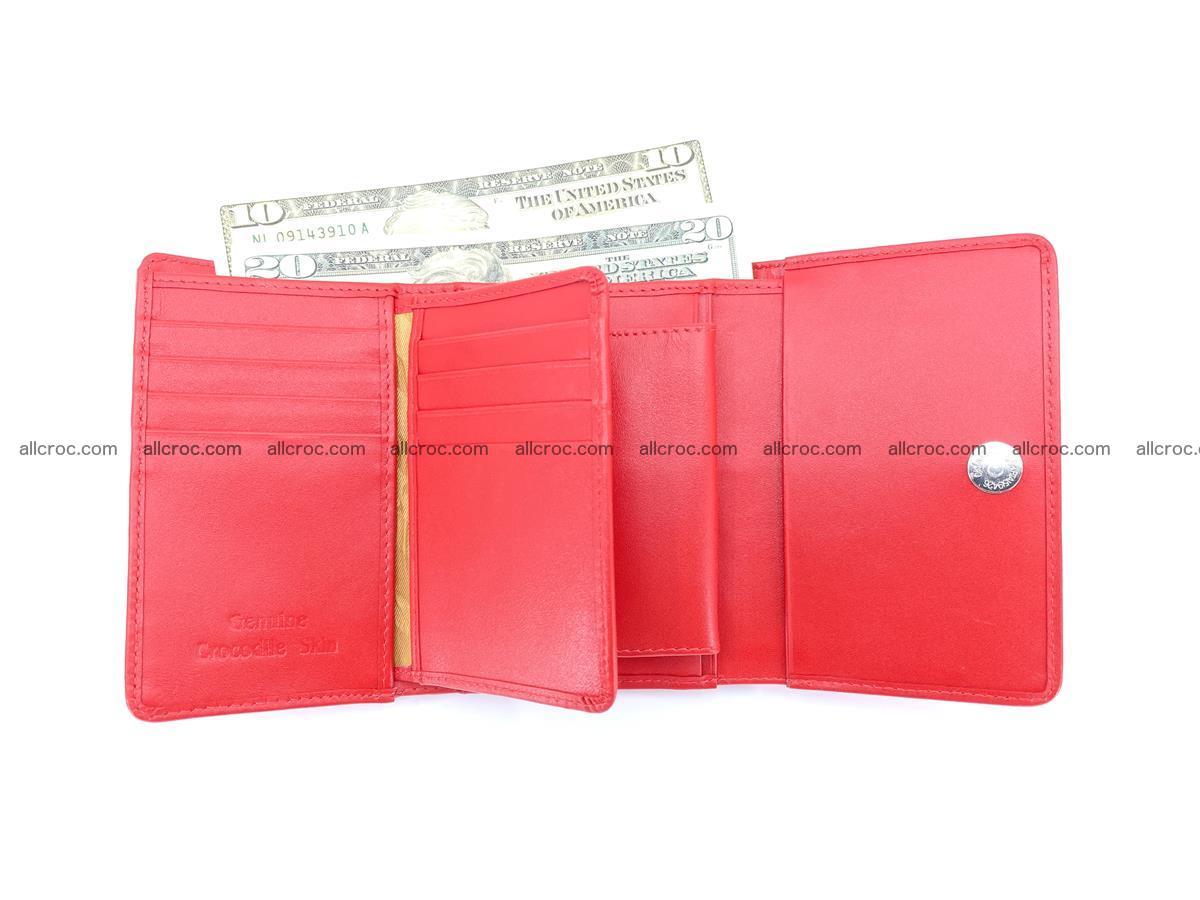 Women's wallet from crocodile leather 585 Foto 9
