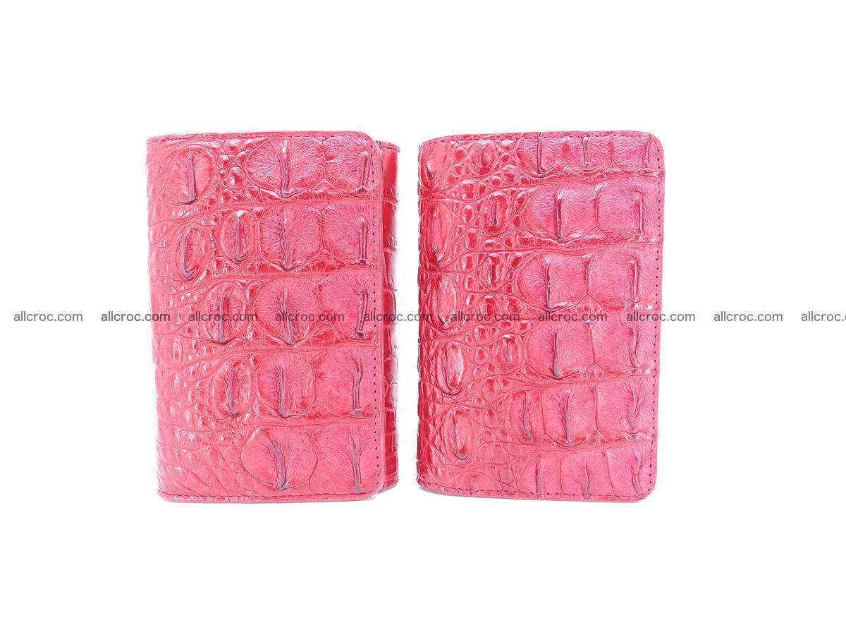 Women's wallet from crocodile leather 580 Foto 11