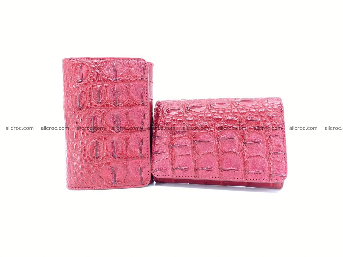 Women's wallet from crocodile leather 580 Foto 12