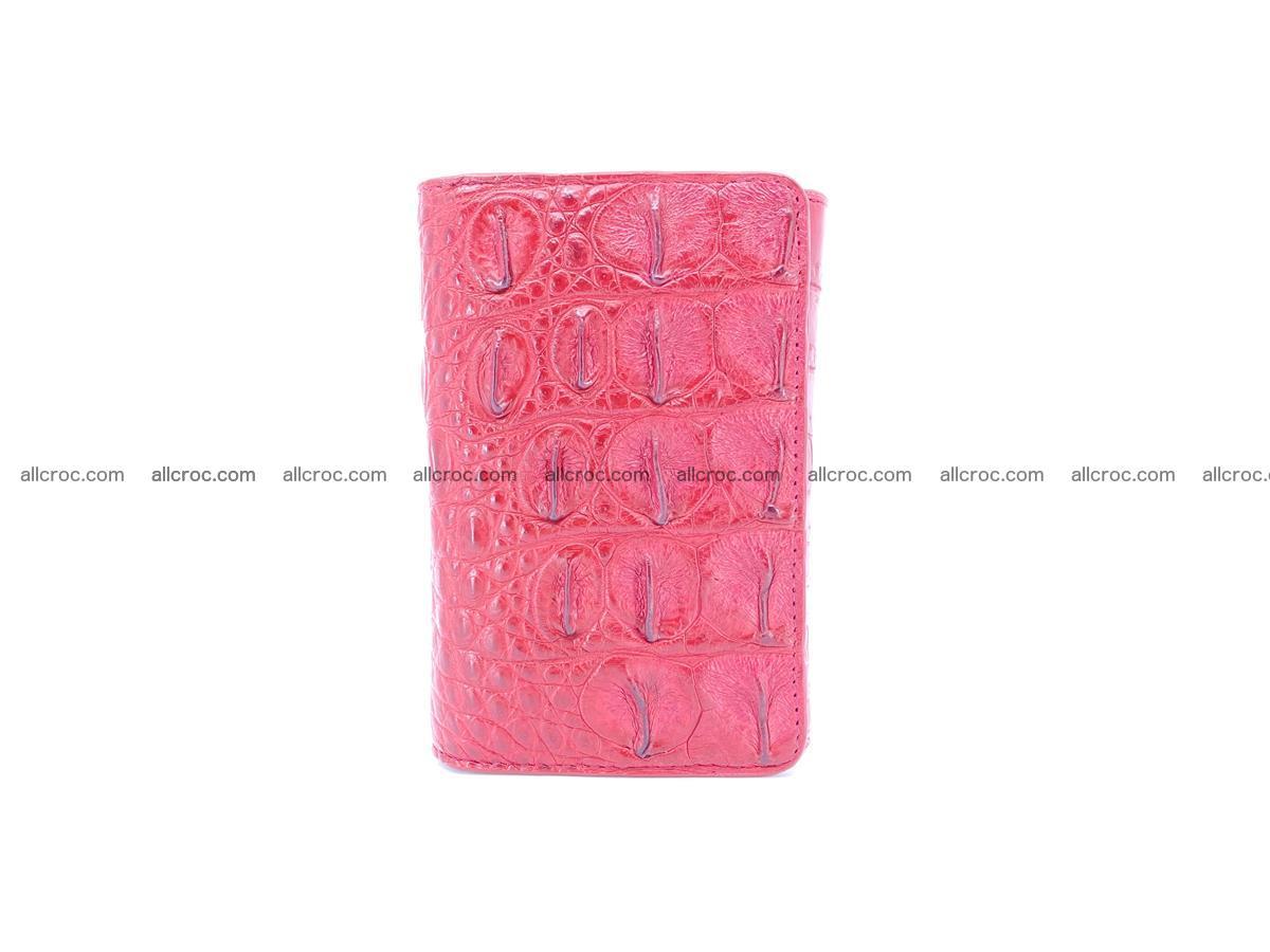 Women's wallet from crocodile leather 580 Foto 2