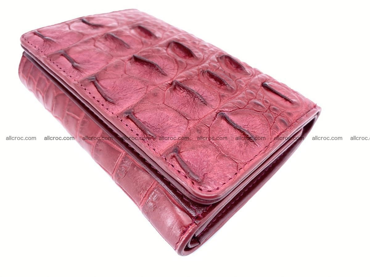 Women's wallet from crocodile leather 580 Foto 5