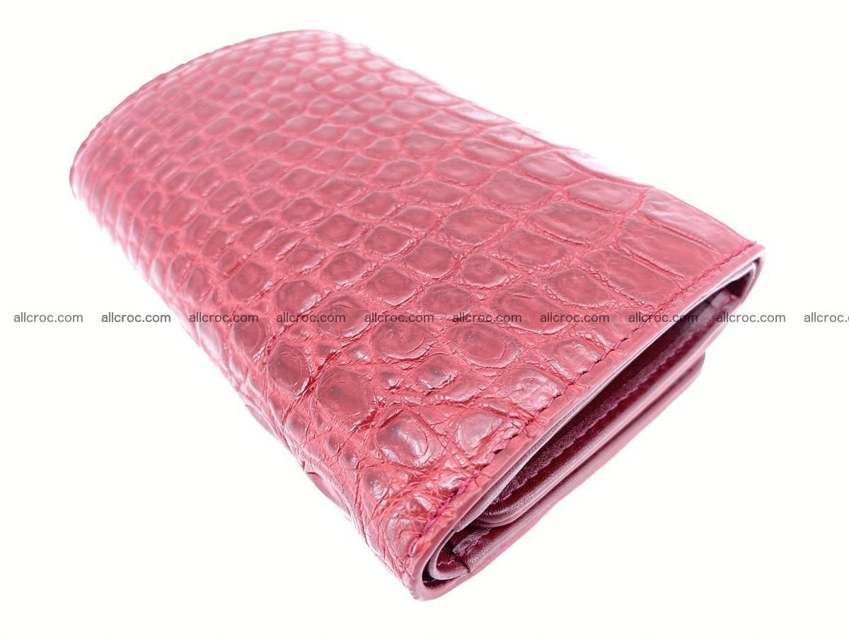 Women's wallet from crocodile leather 580 Foto 6